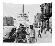 Chicago Protest, 1941 Tapestry