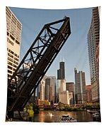 Chicago River Traffic Tapestry