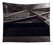 Chicago Structure Bw Tapestry