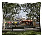 Chicago The Bean Lower Westside Tapestry