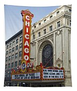 Chicago Theater Facade Southside Tapestry