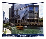 Chicago Transportation Triptych 3 Panel Hdr 01 Tapestry
