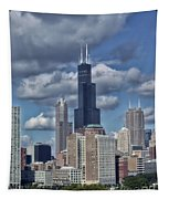 Chicago Willis Sears Tower Tapestry