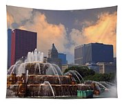 Chicago...my Kind Of Town Tapestry