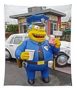 Chief Clancy Wiggum From The Simpsons Tapestry