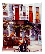 Childhood Montreal Memories Balconies And Bikes The Boys Of Summer Our Streets Tell Our Story Tapestry