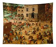 Childrens Games Tapestry