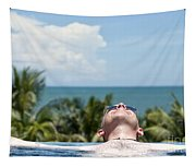 Chilled In Paradise Tapestry
