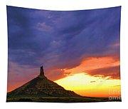 Chimney Rock Nebraska Tapestry