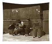 Chinese Cobbler San Francisco California Chinatown Circa 1900 Tapestry