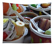 Chinese Food Miniatures 3 Tapestry