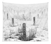 Chinese Grave Markers Tapestry