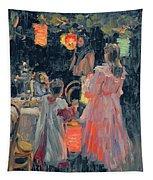 Chinese Lanterns Tapestry