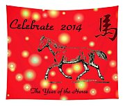Chinese New Year 2014 Tapestry