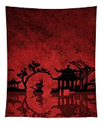 Chinese Red Tapestry