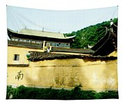 Chinese Temple Tapestry