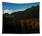 Chinnock Pass From Masatchee Falls Tapestry