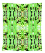 Chive Abstract Green Tapestry