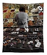 Chocolate Shop Tapestry