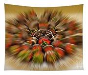 Chocolate Strawberry Rush Tapestry