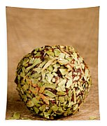Chocolate Truffles Rolled In Thyme Tapestry