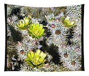 Cholla Flowers Tapestry