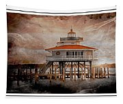 Choptank River Lighthouse Tapestry