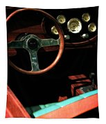 Chris Craft Interior With Gauges Tapestry