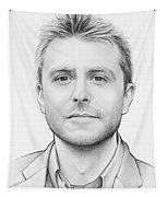 Chris Hardwick Tapestry by Olga Shvartsur