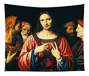 Christ Among The Doctors Tapestry