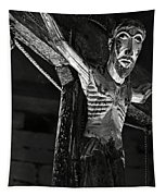 Christ Of Salardu - Bw Tapestry
