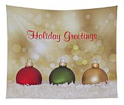 Christmas Baubles Tapestry