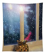 Christmas Candle Tapestry
