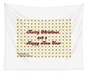 Christmas Cards And Artwork Christmas Wishes 1 Tapestry