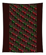 Christmas Cards And Phone Cases Tapestry