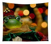 Christmas Frog Tapestry