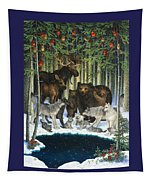 Christmas Gathering Tapestry