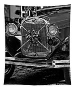 Christmas Grillwork - Bw Tapestry