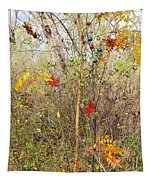 Christmas In Nature Tapestry