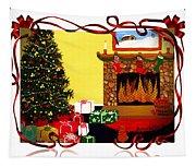 Christmas - Memories - Ribbons - Bows Tapestry