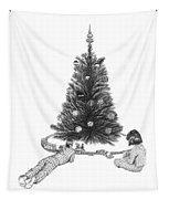 Christmas Morning Play  Tapestry
