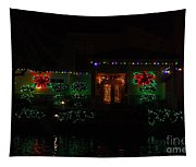 Christmas On East Lake 3 Tapestry