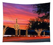 Christmas, Phoenix, Arizona, Usa Tapestry
