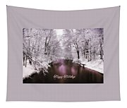 Christmas Pond Tapestry