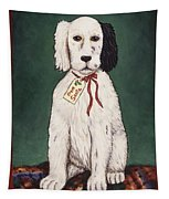 Christmas Puppy Tapestry