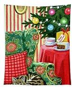 Christmas Tea Tapestry