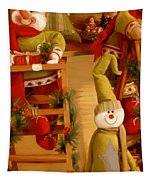 Christmas Toys Tapestry