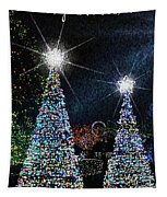 Christmas Trees Tapestry