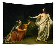 Christs Appearance To Mary Magdalene After The Resurrection Tapestry