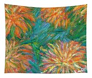 Chrysanthemum Shift Tapestry